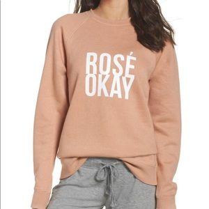 Rosé Okay Crewneck Sweatshirt